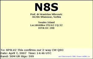 N8S swains isl