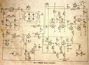 Oryginalny schemat TRX CW 80m wg. SP5QU